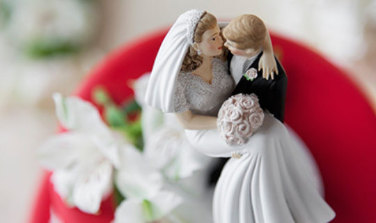 Wedding Cake Topper- Thumbnail