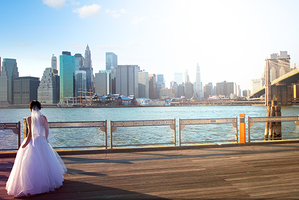 bride in Manhattan