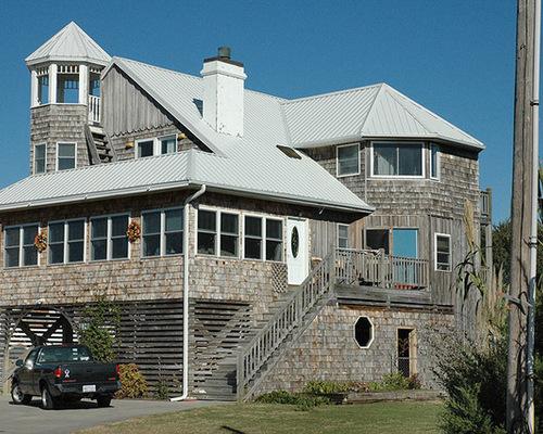 metal roof house