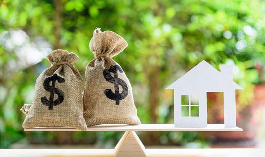 household debt ratio scale